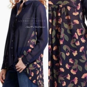 Anthropologie {Maeve} floral blouse